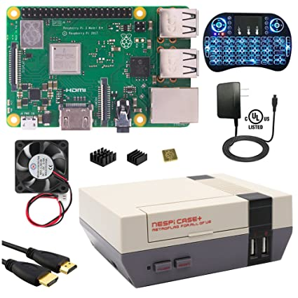 Amazon com: Berryku Raspberry Pi NESPi Media Center Plus Kit