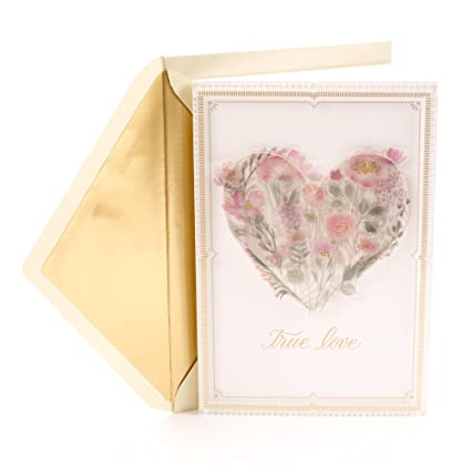 Amazon Hallmark Signature Love Card True Romantic Anniversary Birthday Mothers Day Office Products