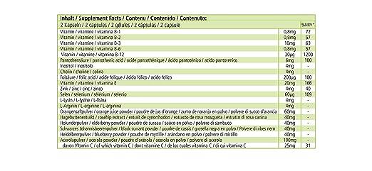 Fruta y Verdura Plus - 120 cápsulas - VEGANO - polvo de fruta y verdura de alta calidad con enzimas y cultivos benevolentes - multivitamínico - ...