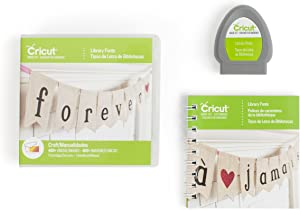 Cricut Library Fonts Cartridge