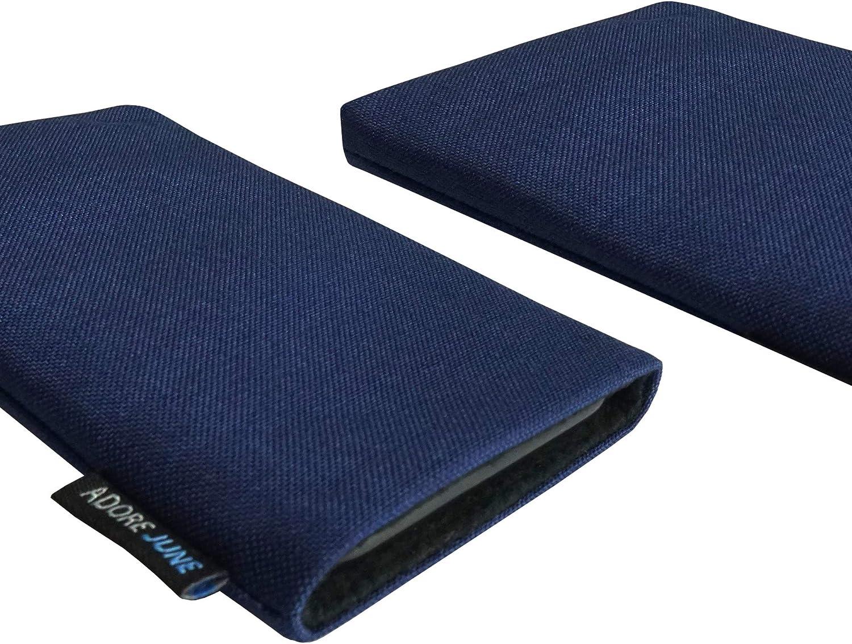 Adore June Classic Bleu-Oc/éan Housse de Protection Compatible avec Samsung Galaxy S20 Pochette /Établie R/ésistant Textile avec Affichage Nettoyage Effet