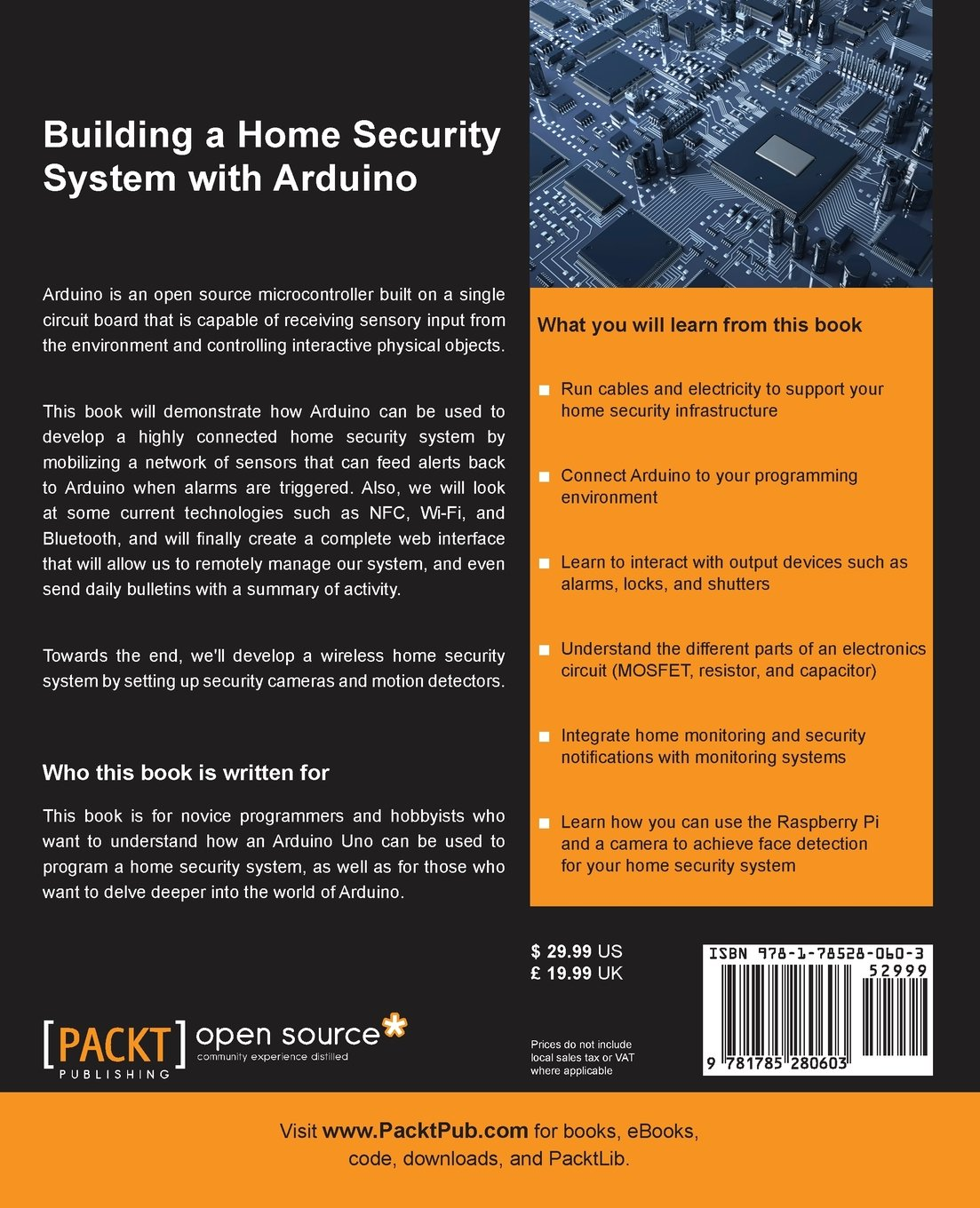 Building a Home Security System with Arduino: Amazon.es ...