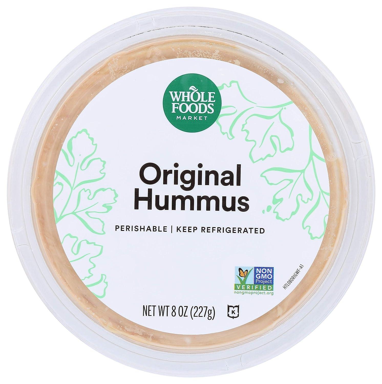 Whole Foods Market, Hummus, Original, 8 oz