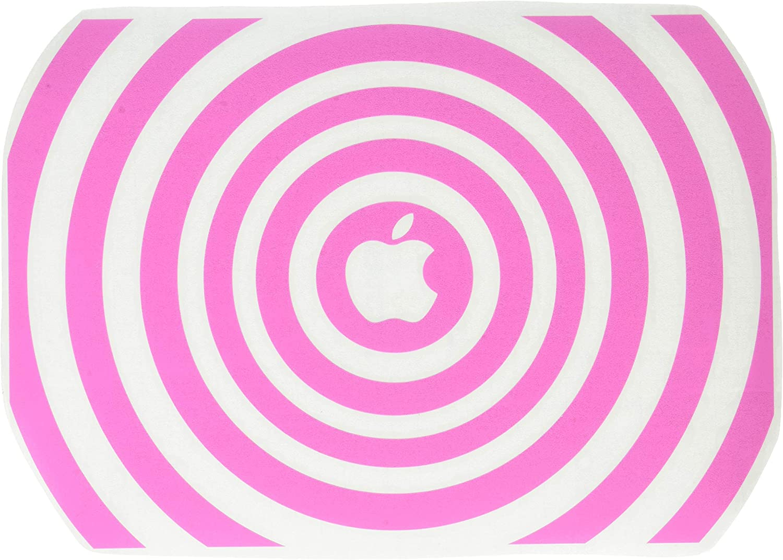The Decal Guru 2048-MAC-13A-BG Music Waves MacBook Decal Vinyl Sticker - 13