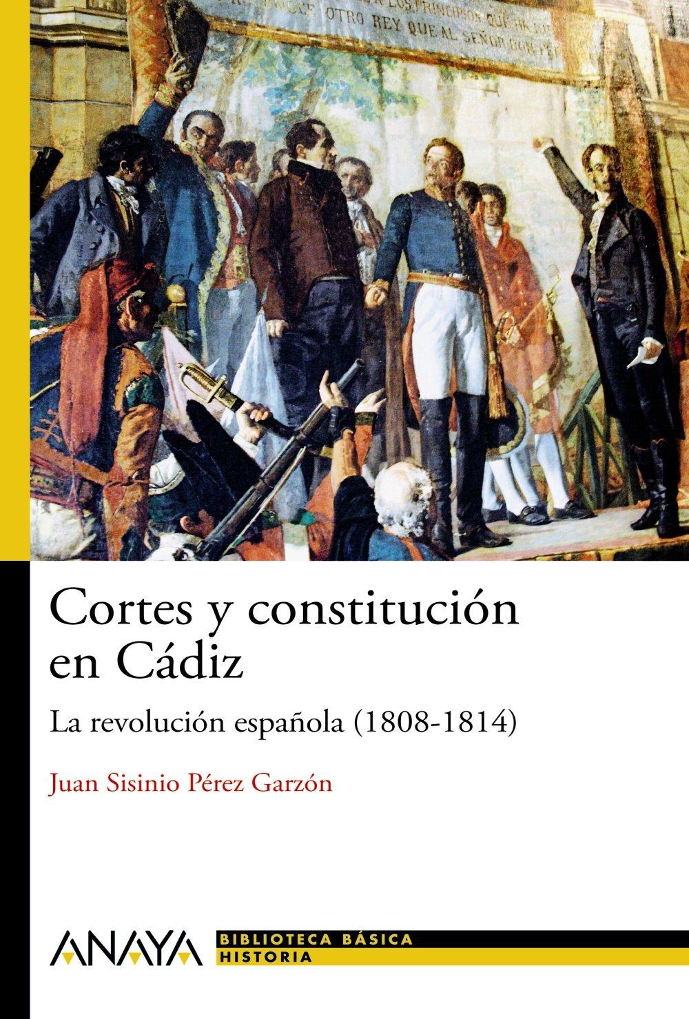 Cortes y constitución en Cádiz: La revolución española 1808-1814 Historia Y Literatura - Nueva Biblioteca Básica De Historia: Amazon.es: Pérez Garzón, Juan Sisinio: Libros