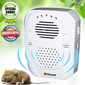 Portable Intelligent Electronic Ultrasonic Mosquito Insect Repellent Pest Reject Insect Killer Adjustable And Usb Charging Port Access Control