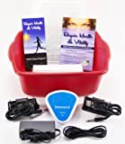 Ionic Detox Foot spa bath Chi Cleanse Unit for Home Use With Free Foot Basin and 2 Super Duty Arrays By Better Health Company Free Regain Health & Vitality Booklet & Brochure!