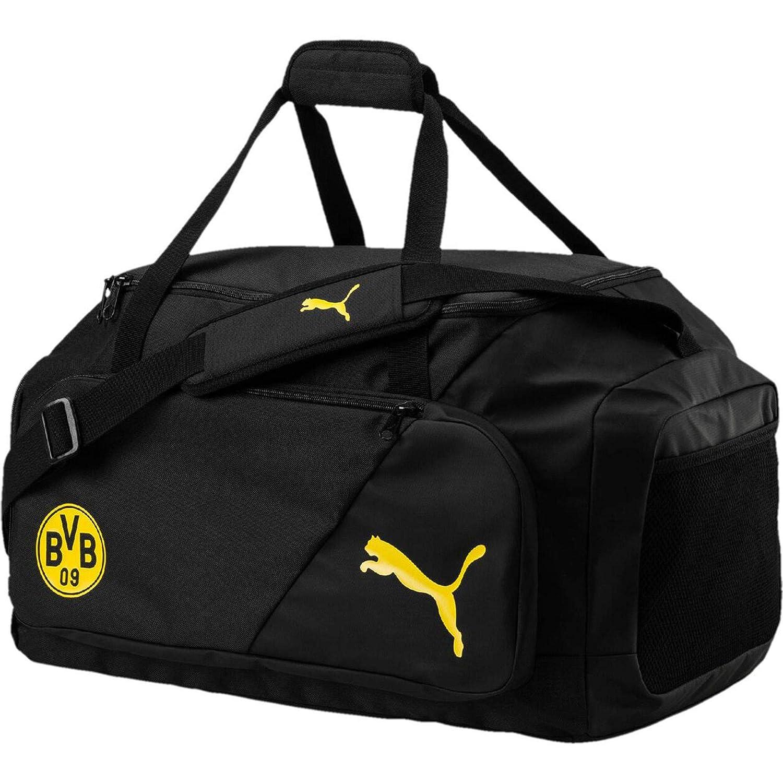 Puma BVB Liga M Bag Funda, PUMA Black de Cyber Yellow, UA: Amazon ...