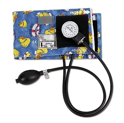 Premium – Tensiómetro aneroide por Prestige Medical USA amarillo diseño de patos de goma