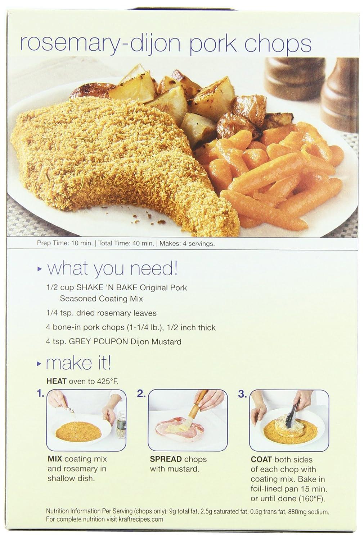 Amazon : Shake 'n Bake Seasoned Coating Mix, Original Pork, 6ounce  Boxes (pack Of 12) : Gourmet Seasoned Coatings : Grocery & Gourmet Food