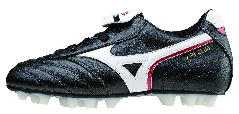 Mizuno Schuh Fußball Morelia MRL Club J 24 Junior Kind Schwarz Weiß Rot