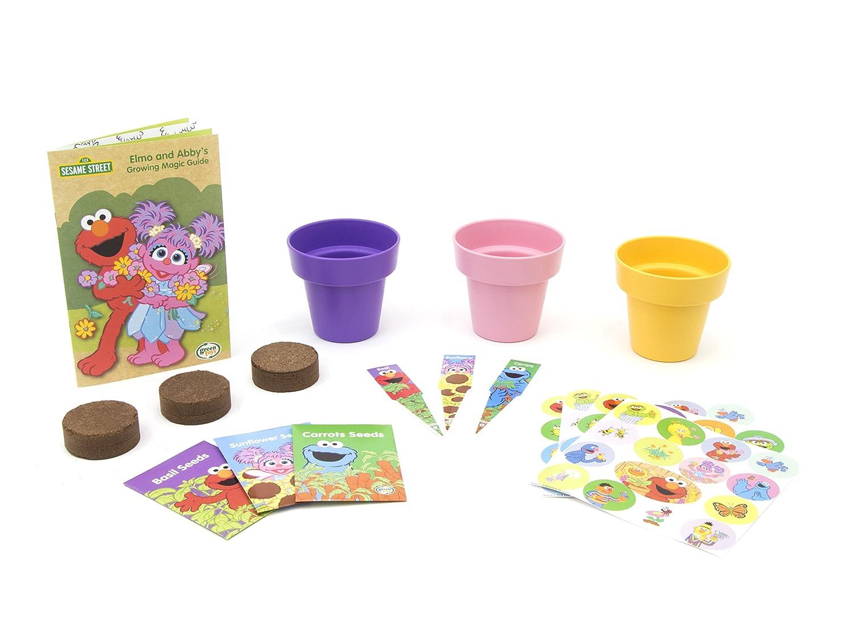 Green Toys Sesame Street Abby's Garden Children's Basic Skills Development Toys SSGAR1-1318
