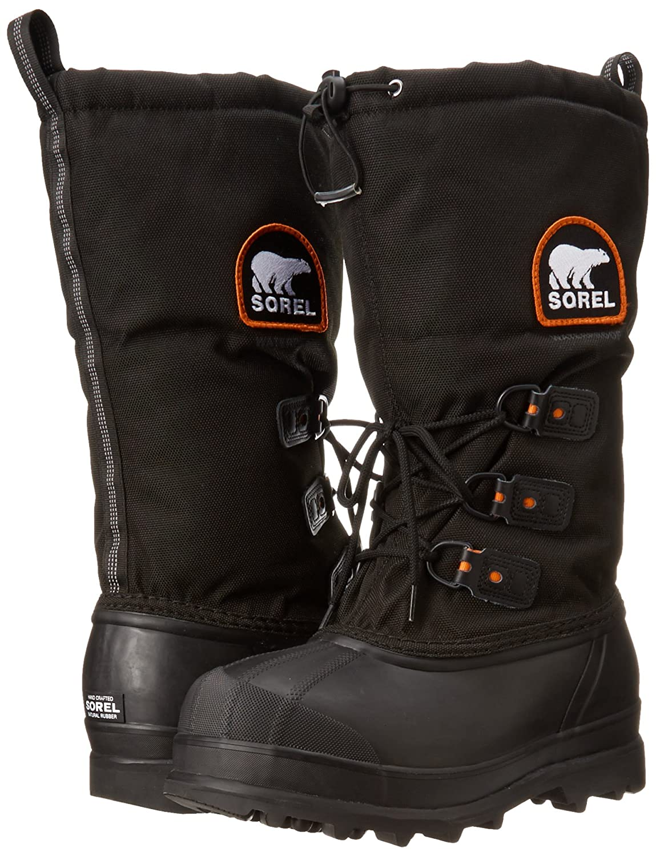Sorel Herren Glacier XT Stiefel Quartz) Schwarz/Rot (Red Quartz) Stiefel 8905ad