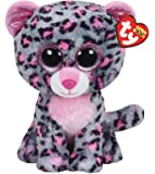 "TY Beanie Boo 6"" Plush Tasha the Leopard"