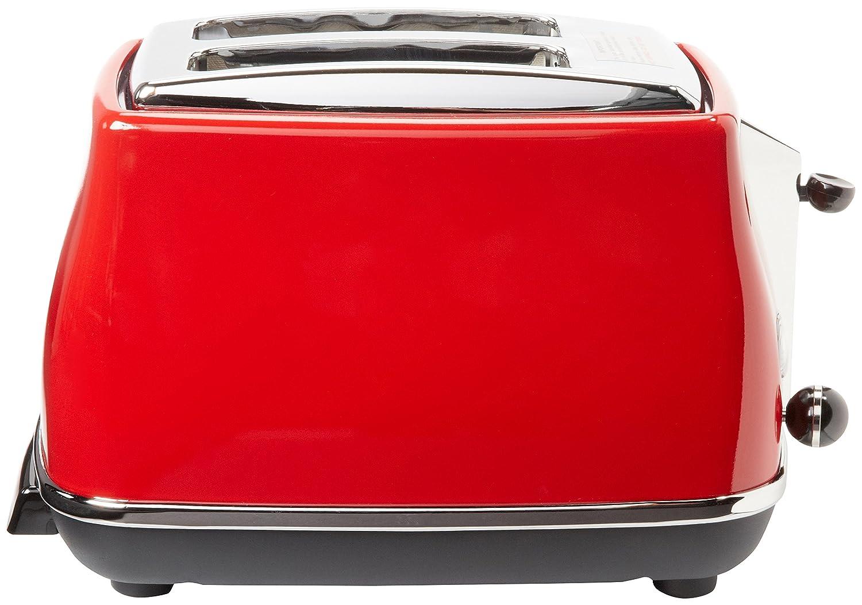 Amazon De Longhi CTO2003R 2 Slice Toaster Red Toaster