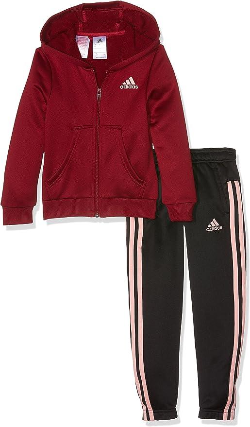 Adidas BP8826- Chándal para niñas, color Multicolor (Buruni/Suabri ...
