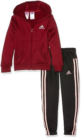 Adidas YG Hood PES TS Mädchen Trainingsanzug