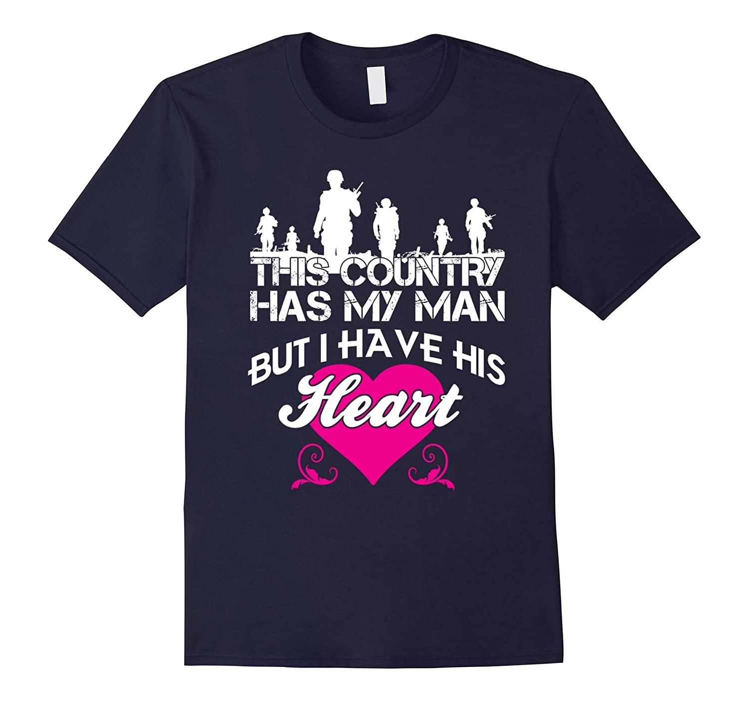 Army Man Lover Tee - For Solider's Lover, Wife, Girlfriend-CL