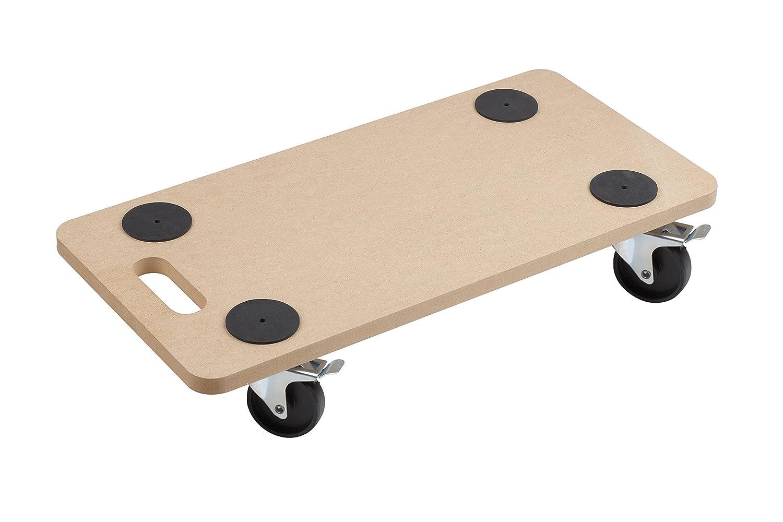 Ruote per spostare mobili good xavax base ad di for Carrello bricoman