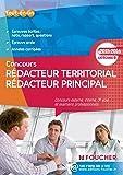 Rédacteur territorial Rédacteur principal catégorie B. 2015 - 2016