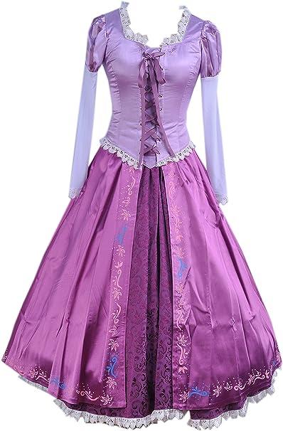 cosrea Disney Sleeping Beauty Aurora Brocade Rosa Adulto de ...