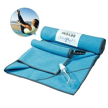 Amazon.com: Esterilla de yoga de microfibra 24
