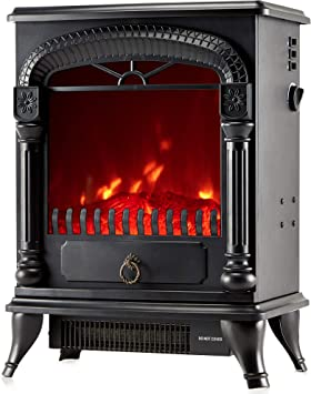 NETTA Electric Fireplace Stove Heater - The Most Powerful Model