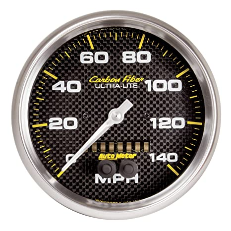 Amazon.com: Auto Meter Fibra de Carbono 3 – 3/8