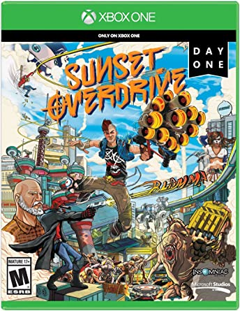 Sunset Overdrive Day One Edition - Xbox One by Microsoft: Amazon ...