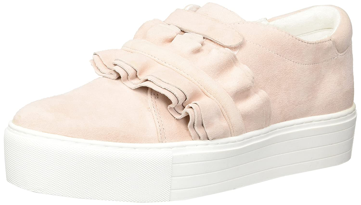 Kenneth Cole New Ruffle York Women's Ashlee Platform Ruffle New Detail Sneaker B079ZZX4Q5 8.5 B(M) US|Rose 78d86e
