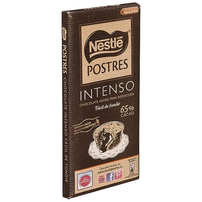 Nestlé Postres Tableta De Chocolate Intenso - 200 g: Amazon.es: Amazon Pantry