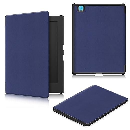 10 opinioni per WindTeco Kobo Aura H2O Edition 2 Case- Folio Custodia Ultra Sottile con Funzione