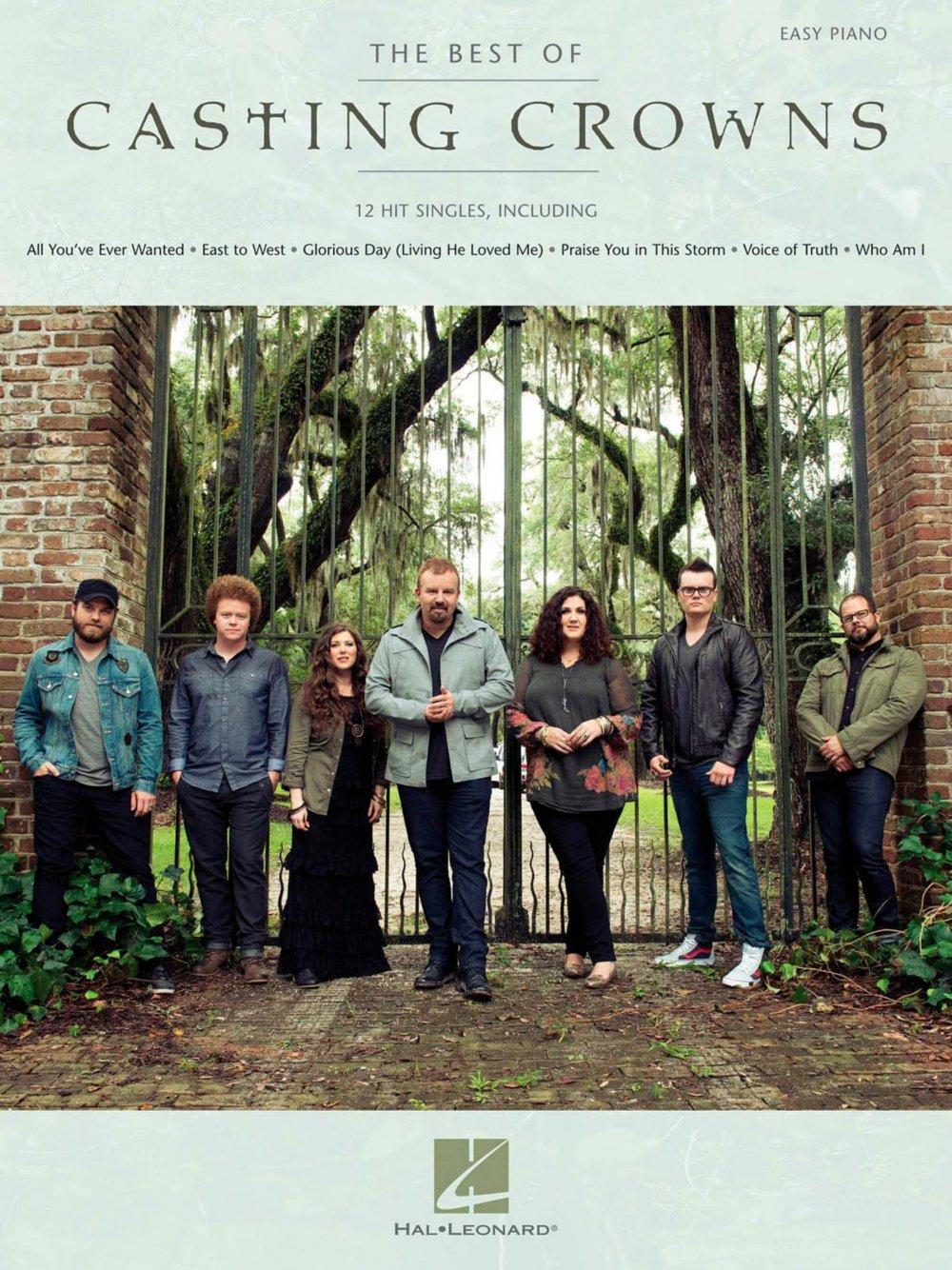 The Best of Casting Crowns Sheet music Hal Leonard B00U909B74