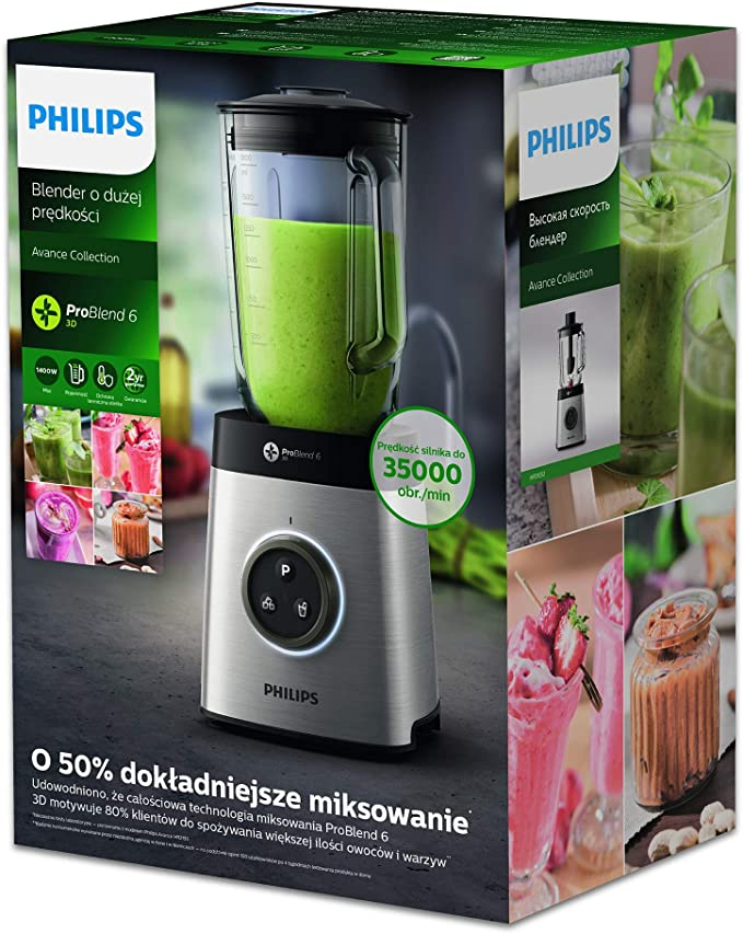 Philips Avance Collection Batidora HR3652/00 - Licuadora (2 L ...
