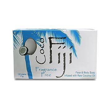 Coco Fiji Coconut OIl Infused Soap Fragrance Free 7oz