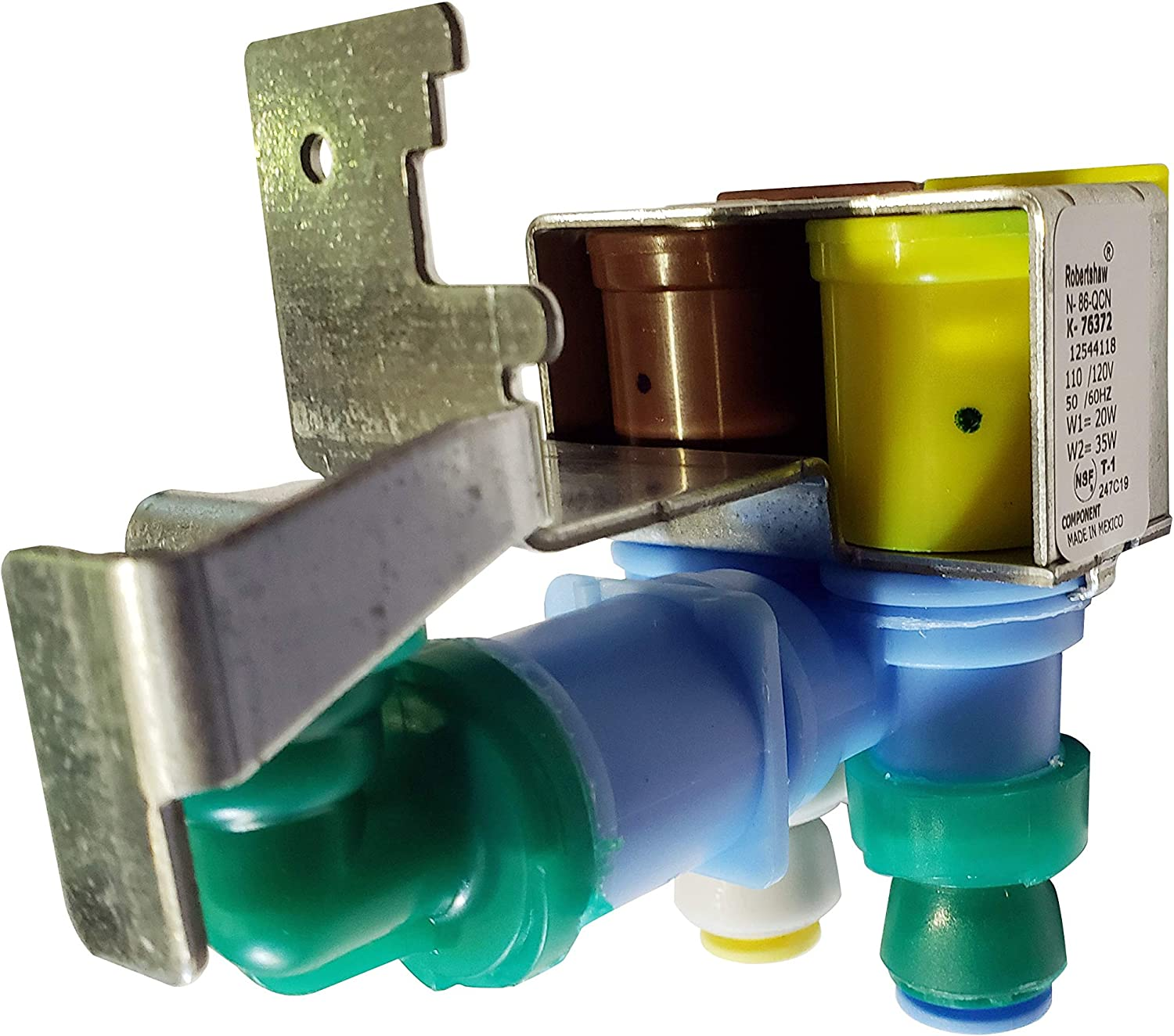 For Whirlpool 67006531 Refrigerator Dual Water Valve
