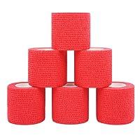 COMOmed selbstklebender verband, elastische binde ,handgelenk bandage, pflaster rolle, Dog Bandagen,Tierische Bandagen 5 cm X 4.5 m