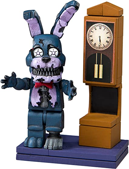 Five Nights At Freddy's Micro Construction Lot Office Party Clock 2018 FNAF LEGO