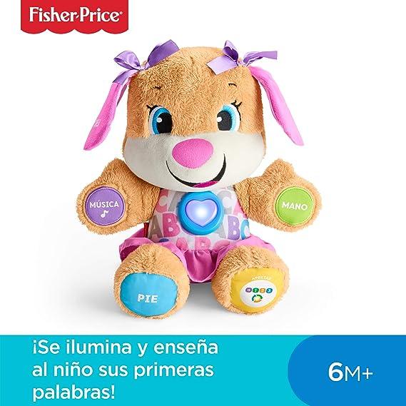 Fisher-Price Perrita primeros descubrimientos, juguete bebé +6 ...