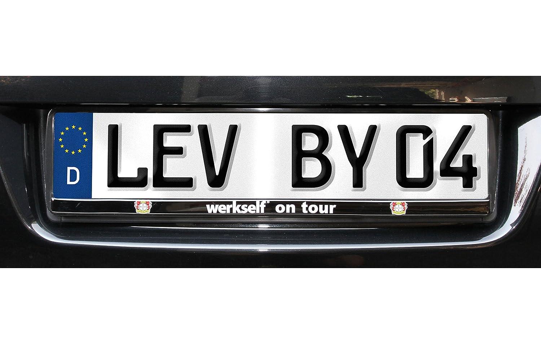 Bayer 04 Leverkusen Nummernschildträger / Kennzeichenverstärker ...