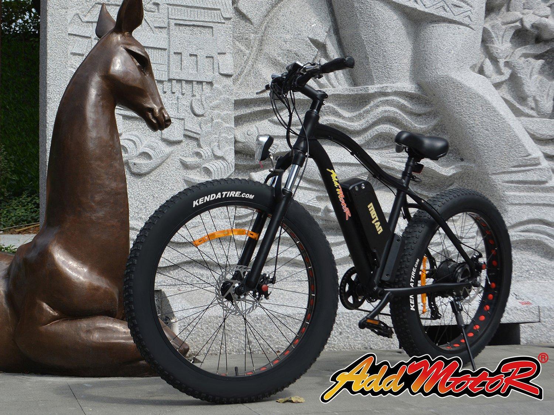 Addmotor MOTAN Nueva Bicicleta Eléctrica Actualizada M-550 48V 500W Bafang Motor 10.4AH Samsung Batería de Litio Mountaña Bicicleta Electrica con Shimano 7 ...