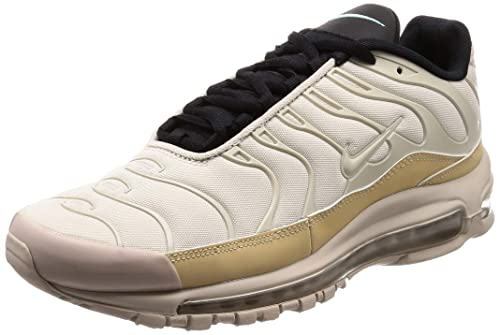6c743a2c3c7 Nike Mens Air Max 97/Plus Mesh Workout Running, Cross Training Shoes