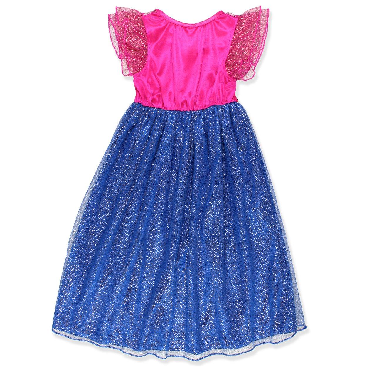 Amazon.com: Disney Girls\' Princess Fantasy Nightgowns: Clothing