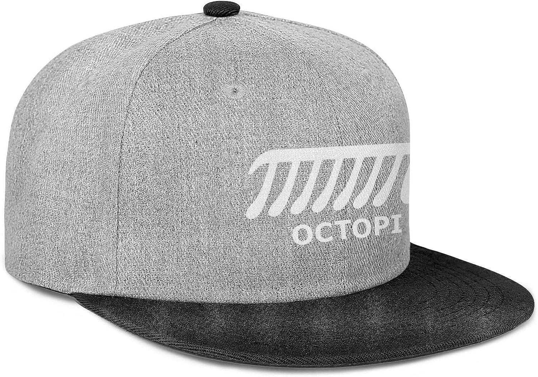 Newpz Octopi Math PI Men Women Wool Trucker Cap Adjustable Snapback Summer Hat