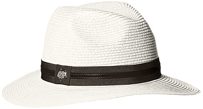 Vince Camuto Women s Straw Panama Hat with Double Band edce8798e33