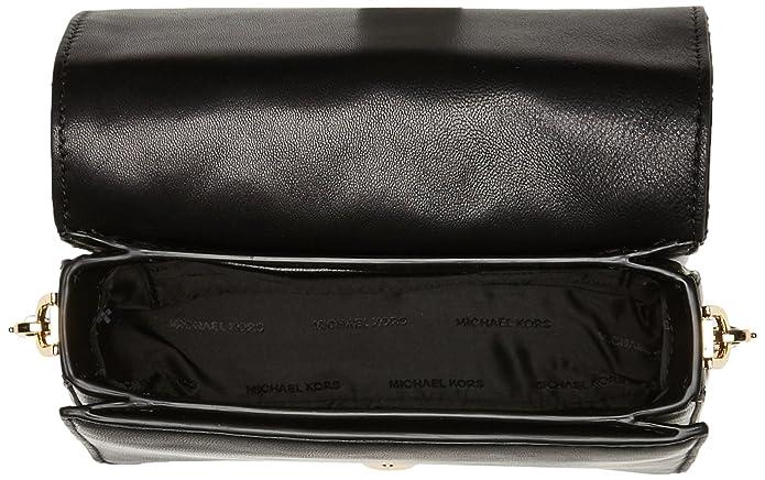 Michael Kors - Jade Md Gusset Clutch, Carteras de mano Mujer, Negro (Black), 14x6x18 cm (W x H L): Amazon.es: Zapatos y complementos