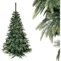 gsmarkt | Weihnachtsbaum 250 cm Norwegische Fichte Grün Künstlicher Tannenbaum Christbaum Dekobaum Weihnachtsdeko