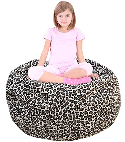 Child Bean Bag | Sofa Chair | Storage Bags | Beanbag Chair | Fabric Clothes  Bag