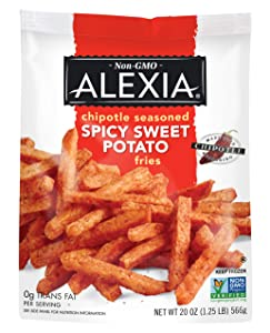 Alexia, Spicy Sweet Potato-Julienne Fries with Chipotle Seasoning, 20 oz (Frozen)