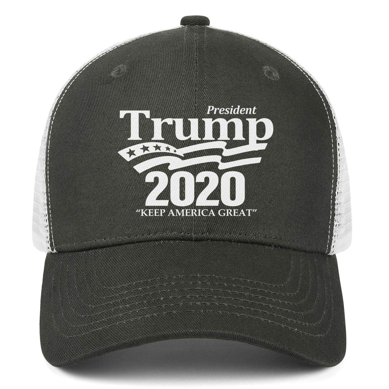 JDHASA Fuck-Trump-2020-white-gesture Baseball Caps for Men Ball Cap Dad Hats